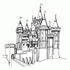 Castle Coloring Pages Getcoloringpages With The Most Awesome As Well Attractive Disney