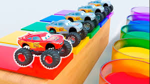 Learn Colors With Monster Trucks - Educational Video | Cars Toys For ... Superman Peppa Pig And Other Monster Trucks Parking Truck Sports Car Kids Race Youtube Grave Digger Mayhem Cartoon Image Group 57 Lion For Children Mega Tv Fire Truck Bulldozer Racing Car And Lucas The Videos For Hot Wheels Monster Jam Toys Best Series Compilation Trucks Children Dinosaur Toys Ocean Toy Videos Sharks Truck For Children Street Vehicle Playing At Home Play Bowling Vehicles 3d Cars
