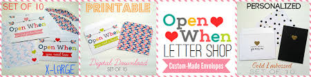 35 Inspiring open when letters made by YOU LDR Magazine