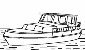Speed Boat Coloring Pages 20 Printable For Kids