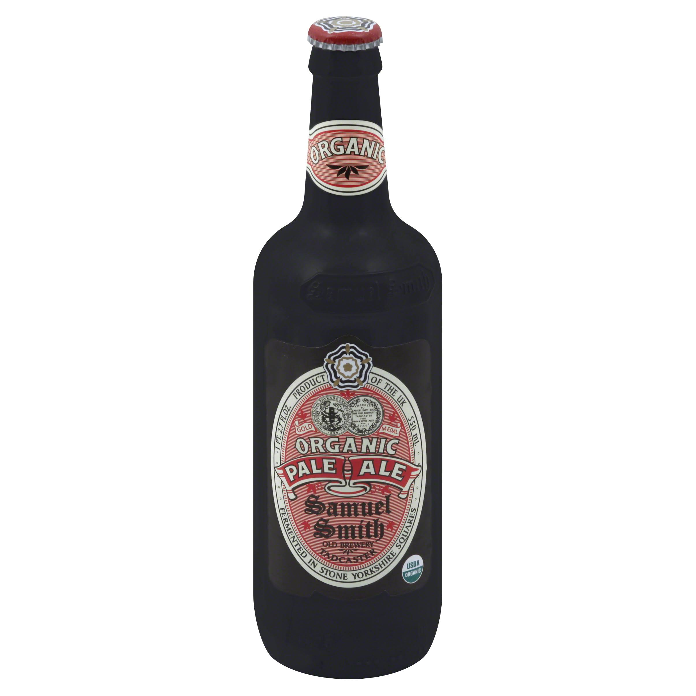Samuel Smith Ale, Organic, Pale - 18.7 fl oz