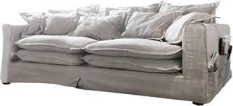 delife big sofa noelia 240 x 145 cm with cushion de