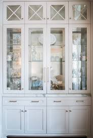 13 White Dining Room Cabinet Formal Storage And Built In With Gold Hardware