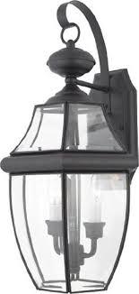 quoizel ny8317k newbury 2 light outdoor wall lantern fixture