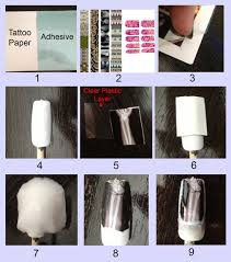 1 Youll Need Temporary Tattoo Paper You Can Also Use Pre Made Tattoos I Bought Mine Here On Amazon But Im Sure Find It Elsewhere