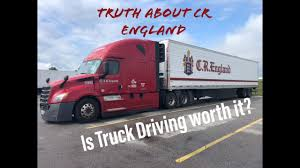 100 Cr England Truck Truth About CR And Truck Driving