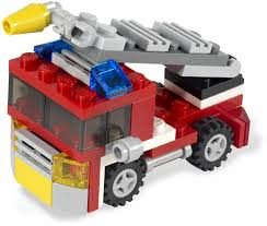 100 Custom Lego Fire Truck 6911 Mini