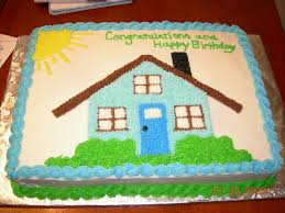 Cakes For House Warming Parties