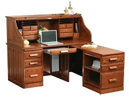 desk used roll top computer desk for sale solid oak roll top