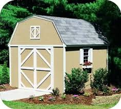 8x12 Storage Shed Kit by Handy Home Products Sheds Wood Storage Shed Kits
