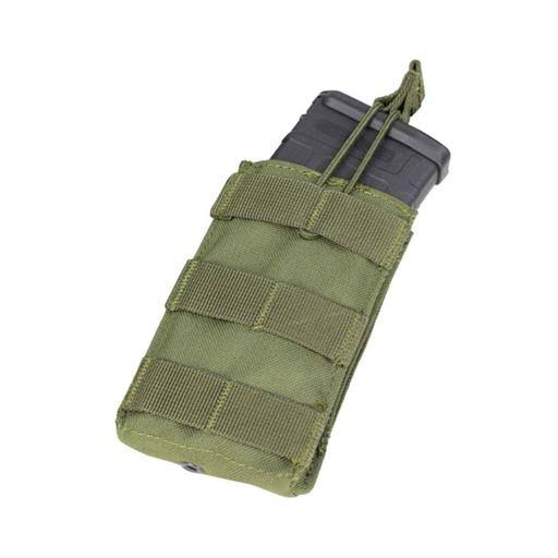 Condor Ma18 Single Open-Top 5.56mm Molle Hunting Magazine Pouch OD Green