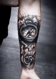 Map Tattoo Designs 19