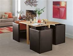 buy square hideaway ash and brown dining set from the next uk