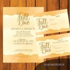Unique Fall In Love Wedding Invitations And Formal Invitation Into