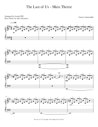 The Last of Us Main Theme Gustavo Santaolalla