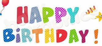 happy birthday lettering – Happy birthday lettering by Rita
