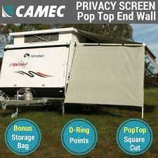 Camec Pop Top Privacy Screen End Wall Side Shade, Poptop Caravan ... Coast Pop Top Privacy Screen Sun Shade End Wall Side For Caravan 59 X 98 Sunshade Retractable Awning Outdoor Patio Best Air Porch Awnings Rv Rooms Add A Room Enclosure Shop Shadepronet 49m 18m Sunscreen Roll Screens Rollout In Ma Stationary Fabric Pack 2 Tensioner Ptop Deflapper Kitchen Swan