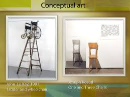 Joseph Kosuth One And Three Chairs Pdf by Postmodernism And Deconstructivism
