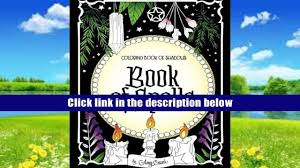 Download Coloring Book Of Shadows Spells Amy Cesari For Kindle
