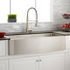 Shaws Original Farmhouse Sink by Apron Kitchen Sinks Drop In Apron Front Sink And Butcher Block
