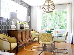 Mid Century Modern Dining Room Rug With Midcentury Family Evaru Design HGTV
