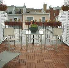 rooftop decking made easy with interlocking deck tiles