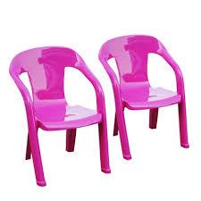 chaise de jardin enfant lot 2 chaises enfants baghera fuschia shaf chaise jardin