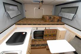 Top Stealth The Trailer Enthusiast A Small Rv Interior Camper
