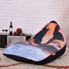 LEVMOON Beanbag Sofa Chair Titanic Seat Zac Comfort Bean Bag Bed Cover Without Filler Cotton Indoor Lounge Shell In Living Room Sofas From