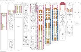 ncl gem deck plan pdf costa tosca deck plan tour