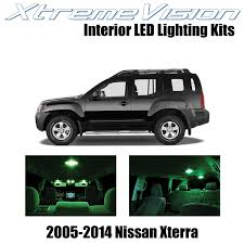 100 Led Interior Lights For Trucks XtremeVision LED For Nissan Xterra 20052014 8 Pieces Blue Premium