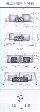Arrangement And Sizing For Pillows On Queen And King Bed. Www ... Luxury Loft Down Alternative Pillows Pottery Barn Kids 18 Photos Gallery Of Best Decorative Pillow Inserts Faux Crib Duvet Cover Baby Comforter Size Create A Home You Love Style Knit Tips Terrific Toss To Decorated Your Sofa Fujisushiorg Poofing The Fall Pillows Stonegable Textured Linen In Orange Paprika Large Button Feather Au Duvet Sobella Blankets In White For Bedroom Classic 26 X Insert Zoom Ikea Living Room Side Sleeper Polyester Case
