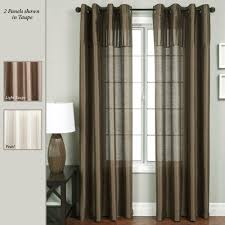 Blockaide Double Curtain Rod by Curtain Grommets Decorate The House With Beautiful Curtains