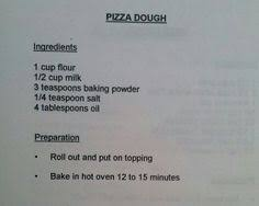 No Yeast Pizza Dough Might Have To Do A Trial Run First