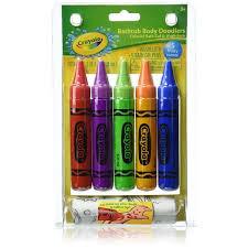 Crayola Bathtub Fingerpaint Soap Non Toxic by Crayola Bathtub Body Doodlers Assorted Colors 5 Ea Pharmapacks