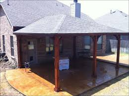 outdoor awesome patio roof cost flat roof patio metal porch roof