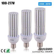 shop ce rohs etl 60w e27 e40 led corn light bulb 100 277vac