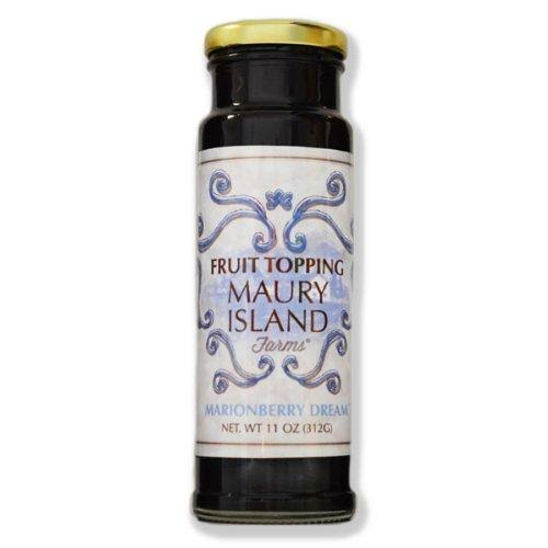 Maury Island Farm Gourmet Marionberry Fruit Topping 11 oz Bottle