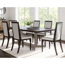 Strick & Bolton Cornelia 7-piece Dining Set, Brown ... Kitchen Ding Room Fniture Ashley Homestore 42 Off Macys Chairs Mix Match Mycs Ding Chairs Joelix Best In 2019 Review Guide Amatop10 Rustic Counter Height Table Sets Odium Brown Fascating Modern Clearance Cool Skill Tables Shaker Set Of 4 Espresso Walmartcom Slime Teak Chair Teak Fniture White Pretty Studio Faux Octagon 3 Ways To Increase The Wikihow