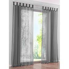 rideau fenetre chambre kou deco rideau voilage à pattes décoration transparent de fenêtre