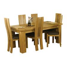 Raymour And Flanigan Broadway Dining Room Set by Class Wooden Extending Dining Table And Chairs Oval Shape Lighting