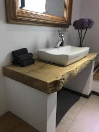 waschtischplatte aus massivem eichenholz mit baumkante www
