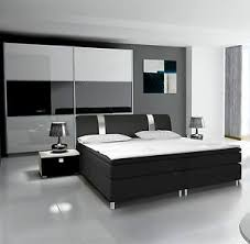 schlafzimmer komplett mit boxspringbett günstig kaufen ebay