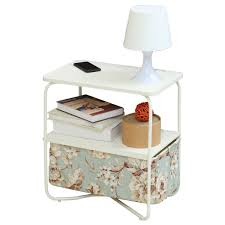 1208S 3 Tier Small Side Table Accent End Table With Storage Drawer