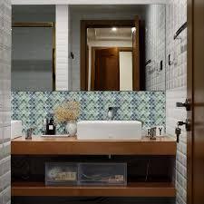 Elegant Black Gloss Brick Tiles White Tile Trim