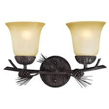 Rustic Cabin Bathroom Lights by Rustic Vanity Lighting U0026 Cabin Bathroom Lights