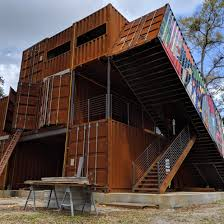 100 Houses Built From Shipping Containers Boxed In UF Lecturer Helps Construct House Made Of Shipping
