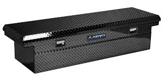 Lund 70-Inch Cross Bed Truck Tool Box, Single Lid, ECL Series, Low ...