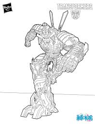 Drift Coloring Page Transformers Transformers Coloring Pages