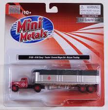 100 Mclean Trucking Classic Metal 187 HO Chevy TractorTrailer Set 194146 McLean